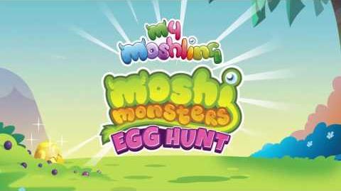 Moshi Monsters Egg Hunt