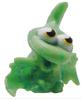 Gurgle figure marble green