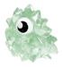 Lurgee figure squishy green