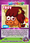 Collector card s11 troy