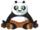 Cuddly Kung Fu Panda