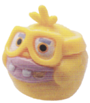 Ned figure electric yellow
