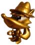 Bonnie figure gold