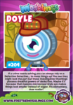 Collector card s11 doyle