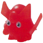 General Fuzuki figure glitter orange