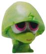Pooky figure marble green
