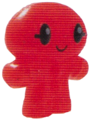 Hansel figure glitter orange