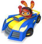 Meelisselim Moshi Karts blue