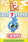 Countdown card s9 chirpy