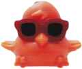 DJ Quack figure sonic orange
