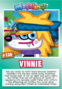 Collector card s8 vinnie