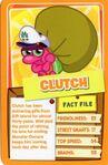 Top trump orange Clutch