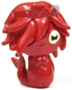 Cali figure bauble red