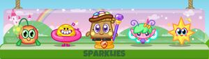 Sparklies set egg hunt