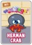 Collector card s3 herman crab