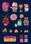 Zebitz moshi candy theme