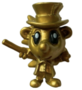 Shed figure gold