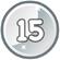 Level 15 icon
