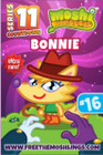 Countdown card s11 bonnie