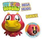 Burnie mega head