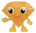 Roxy figure glitter orange promo