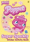 Poppet Super Sparkly Sticker Activity Book cover