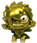 Roy G. Biv figure gold
