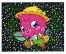 Sticker Poppet shiny 115