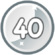 Level 40 icon