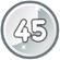 Level 45 icon