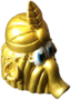 Flora figure gold