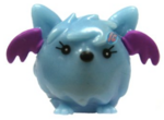 Squidge figure voodoo blue
