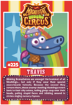 Collector card magnificent moshi circus travis
