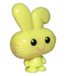 Honey figure marble yellow