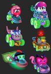 Meelisselim Moshi Karts Moshlings neon 2