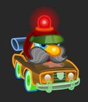 Moshi Karts moshlings neon Roscoe