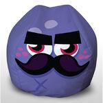 Mustachio beanbag WOW