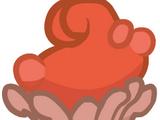 'Orrible Orange Crab Cupcake