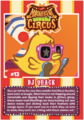 Collector card magnificent moshi circus dj quack