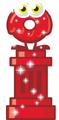 Red Glittery Oddie
