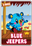 Collector card s7 blue jeepers