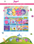Poppet website 2014 homepage