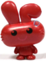Honey figure bauble red