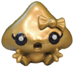 Kissy figure gold