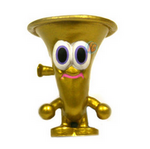 Oompah figure gold