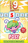 Countdown card s9 posy