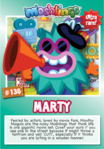 Collector card s8 marty