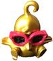 DJ Quack circus figure gold