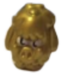 Woolly figure micro gold