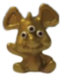 Ratty figure micro gold